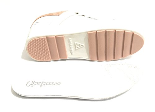 Apepazza Espadrille Scamiciata Mod Roxane Peau Blanche / Poudre Ds18ap04