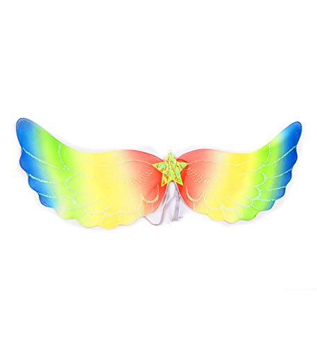 Mozlly Angel Wings for Adults w/ Garterized Strap