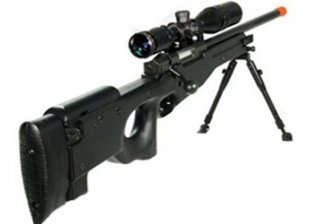 Black-UTG-Type-96-L96-Airsoft-Sniper-Rifle-w-3-9x40-Scope