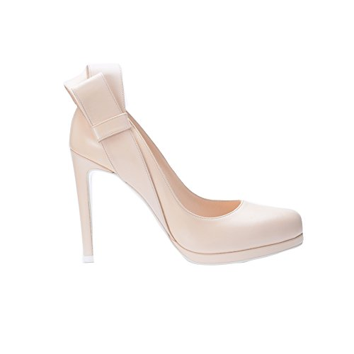 de Perlato Para Rosa Sintética Piel Mujer Rosa Vestir Zapatos de Nicole tAwxq7vc