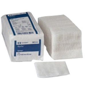 Kerlix Nonsterile Sponge 4'' x 4'' (Bag of 100) by Kendall