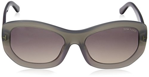 Tom Grey Violet Violet Amy Ford Lens Frame Sunglasses FT0382 80B r4rYq