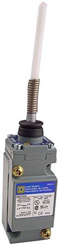 Square D 9007C54J Heavy Duty NEMA Limit Switch, Full Size, 1 Pole, Wobble Stick Delrin (Pole Limit Switch)