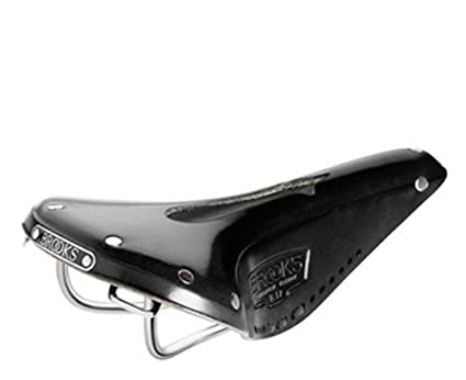 0215d00e7e Brooks Saddles Imperial B17 Narrow Bicycle Saddle with Hole and Laces (Black )