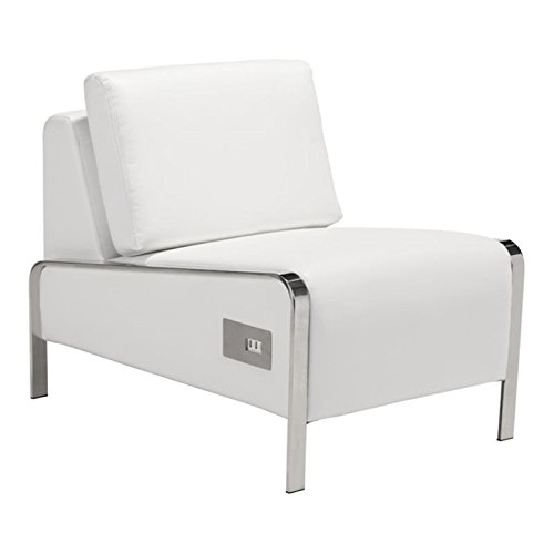 Amazon.com: brika Home Piel Sintética Armless Chair de ...