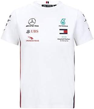 Mercedes-AMG Petronas Official Formula One Motorsport 2020 - Camiseta de Equipo en Color Blanco para niño - 92: Amazon.es: Deportes y aire libre