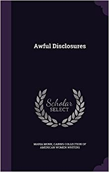 Book Awful Disclosures