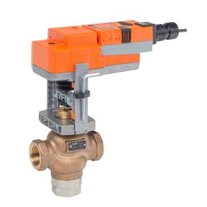 G350B-N+SVX120-3 Globe Valve | 2'' | 3 Way | 40 Cv | w/Non-Spring | 120V | Floating Point