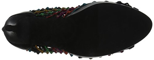 Two Gladiator Lips Black Sandal multi Aloha Women's wSxvOw1