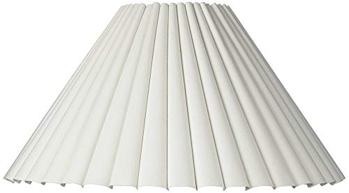 (Box Pleat Lamp Shade 7x20.5x12.5 (Spider) - Brentwood)