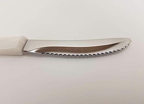 Knife White Pearl - CUTCO Model 1759 Table Knife with White (Pearl) handle....................3.4