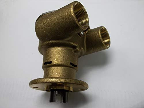 UNK-DJ Engine Cooling Impeller SEA Water RAW Pump Replaces 3270-0001 Perkins 35615 4107 4108 Jabsco 3270-200 ()