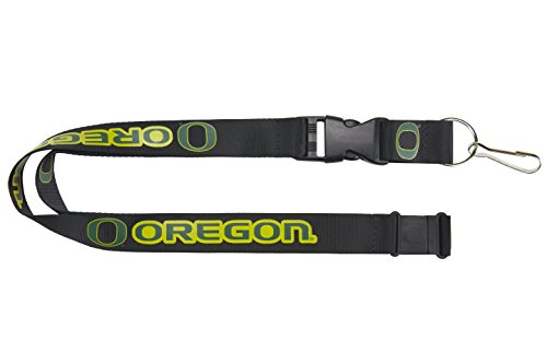 NCAA Oregon Ducks Team Lanyard, Black ()