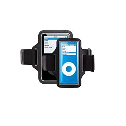 0009aaa6bd542 Griffin Streamline Armband Case for iPod nano 1G, 2G (Black)