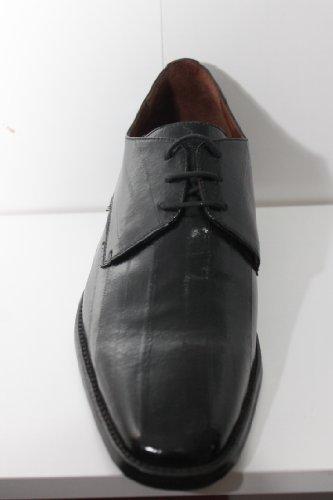 Stringata classica nera in anguilla