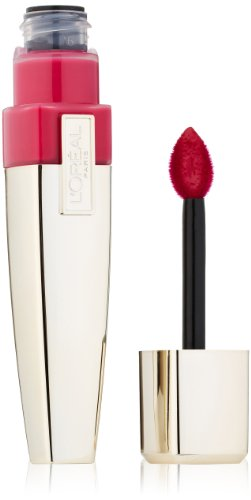 L'Oreal Paris Colour Caresse Wet Shine Lip Stain, Infinite Fuchsia, 0.21 Ounces (Glossy Stain)