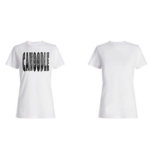 Canoodle lustige Neuheit Damen T-shirt d377f