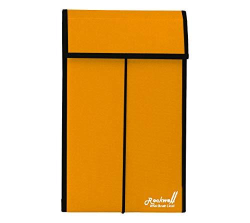 - Rockwell Brush Easel Storage Case Large - Goldenrod