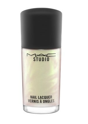mac studio nail lacquer 0.34 oz / 10 ml - Liquid Pigment Green pearl- ()