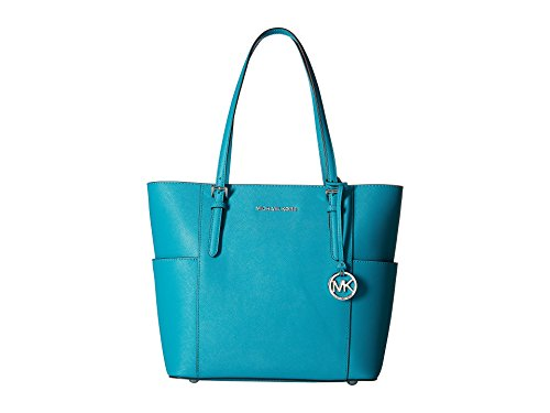 MICHAEL Michael Kors Jet Set Large Tote (Tile Blue) by MICHAEL Michael Kors
