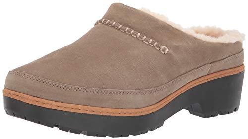 UGG Women's W Lynwood Clog Sneaker, Antilope, 8.5 M US