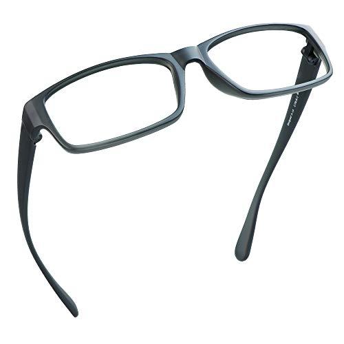 LifeArt Blue Light Blocking Glasses,Cut UV400 Transparent Lens,Computer Reading Glasses,Anti Eyestrain/Anti Scratch/Anti Smudgy,Sleep Better for Women/Men(LA_Apollo,0.00,No Magnification)