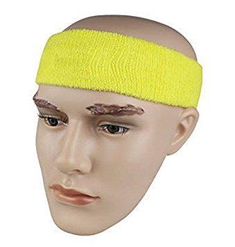 para el sudor 1 unidad, algod/ón varios colores Cinta el/ástica de deporte para la cabeza