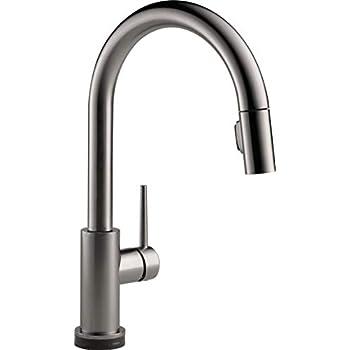 Delta Faucet 9159t Ks Dst Single Handle Kitchen Faucet