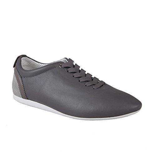 Dolce & Gabbana Men's Gray Leather Sneakers Shoes US 6 IT 5 EU 39;