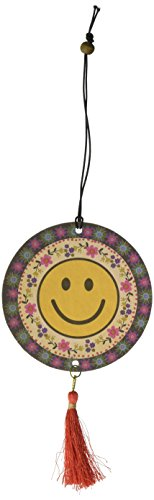 Face Fresheners (Natural Life Smiley Face Tassel Air Freshener, Set of 2)
