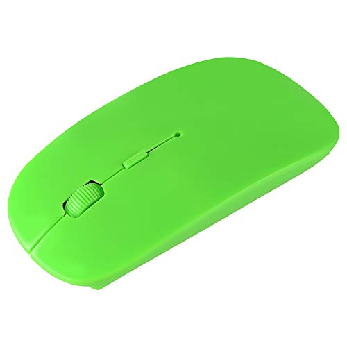 Premium Ultra Thin 2.4G RF DPI Blue Optical Wireless Mouse with USB Nano Receiver for Computer PC Tablet Laptop - Rf Wireless Optical Notebook