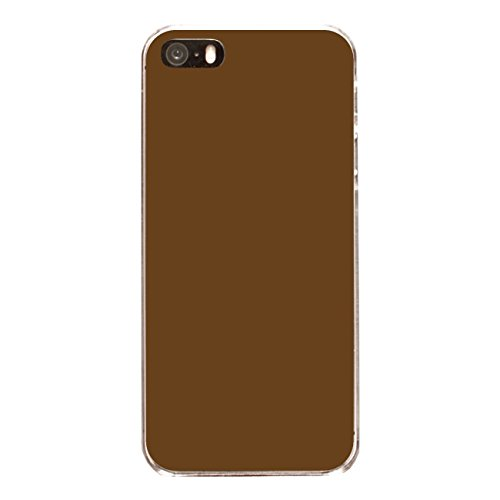 "Disagu Design Case Coque pour Apple iPhone SE Housse etui coque pochette ""Braun"""