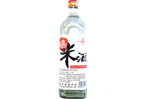 Michiu (Rice Cooking Wine)- 750ml (Pack of 1) by QIAN HU