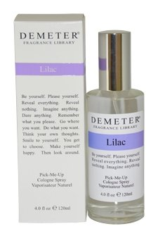 Lilac Women Cologne Spray by Demeter, 4 Ounce - Lilac Fragrance