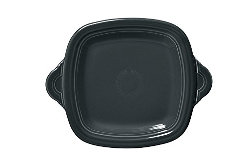 Fiesta Square Handled Tray, Slate