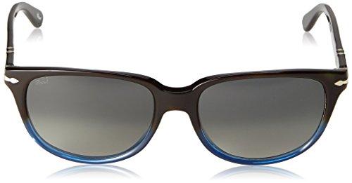 Persol Lunettes de soleil 3104 Pour Homme Black / Green, 54mm Havana Gradient Bluee 902971