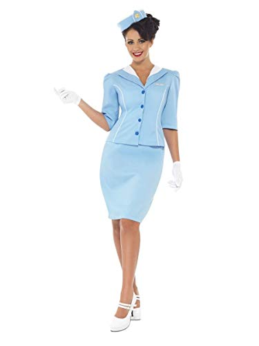 ESSA OAT clothes series Air Hostess Retro Stewardess Flight Attendant Adult Costume]()