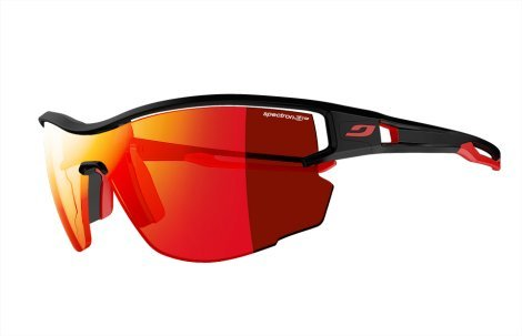 Julbo Aero Sunglasses, Black/Red, Medium