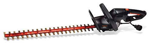 Remington RM5124TH  Dual Action 5 Amp 24-Inch Electric Hedge Trimmer with Titanium Blades (Renewed)