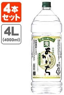 よかいち 〈麦〉 25度 宝酒造 4L(4000ml) ペット 4本入り