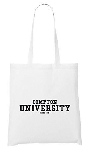 Compton University Bag White Certified Freak
