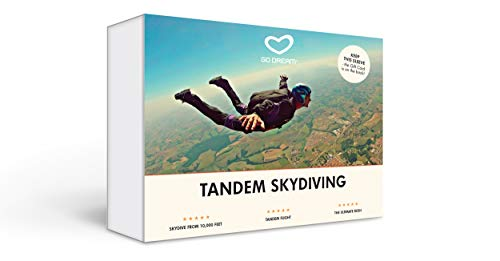 Tandem Skydiving Experience Gift Card NYC - GO DREAM - Sent in a Gift Package ()