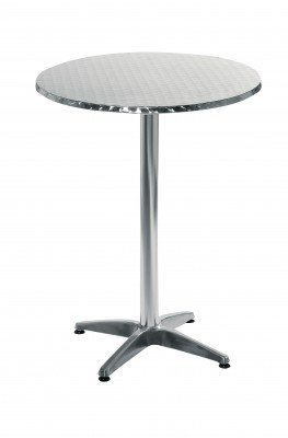 Amazon.com: Alice redonda de metal mesa alta de bar: Kitchen ...