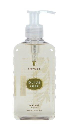 Thymes-Hand-Wash-Olive-Leaf-825-Ounce-Pump-Bottle