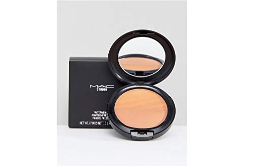 MAC Studio Waterweight Pressed Powder Medium Golden -