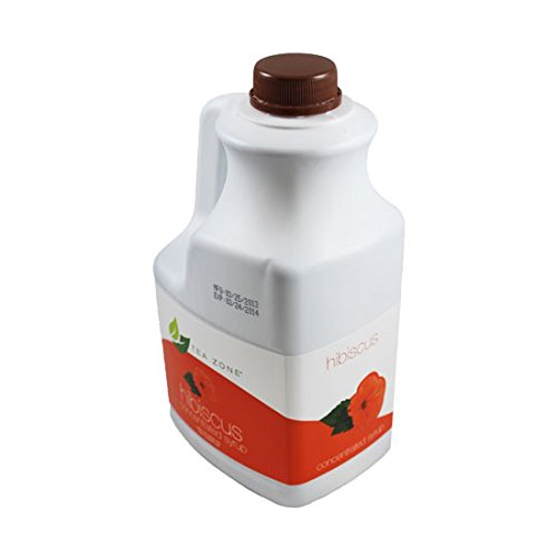 Apex Teazone Hibiscus Syrup 'Jamaica' (Teazone, 64oz Bottle) -