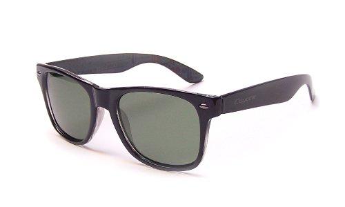 Coyote Eyewear P-23 Polarized Wayfarer Style Sunglasses, - Sunglasses Coyotes