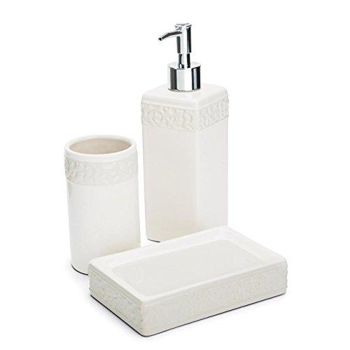 Kit Para Banheiro 3 Peças, Haüskraft, Branco