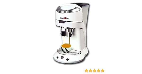 Mini Moka 999309000 - Cafetera, color blanco: Amazon.es: Hogar