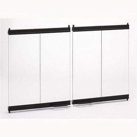 Amazon Superior Bdb36 Standard Bi Fold Door In Black For 36